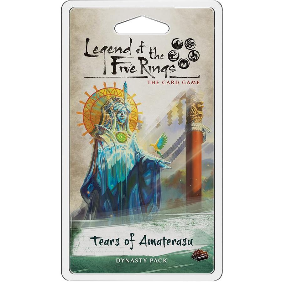 Legend of the Five Rings: The Card Game - Tears of Amaterasu Dynasty Pack - On the Table Games