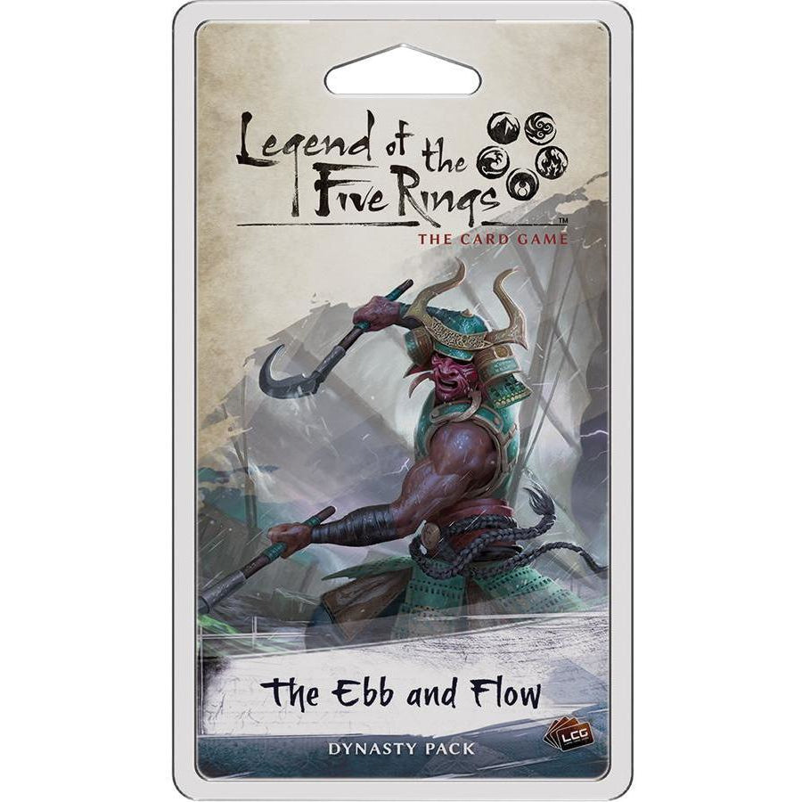 Legend of the Five Rings: The Card Game - The Ebb and Flow Dynasty Pack - On the Table Games