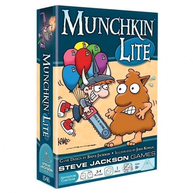 Munchkin Lite - On the Table Games