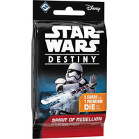 Star Wars Destiny: Spirit of Rebellion Booster Pack - On the Table Games