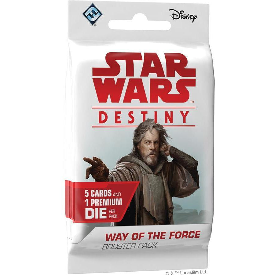 Star Wars Destiny: Way of the Force Booster Pack - On the Table Games