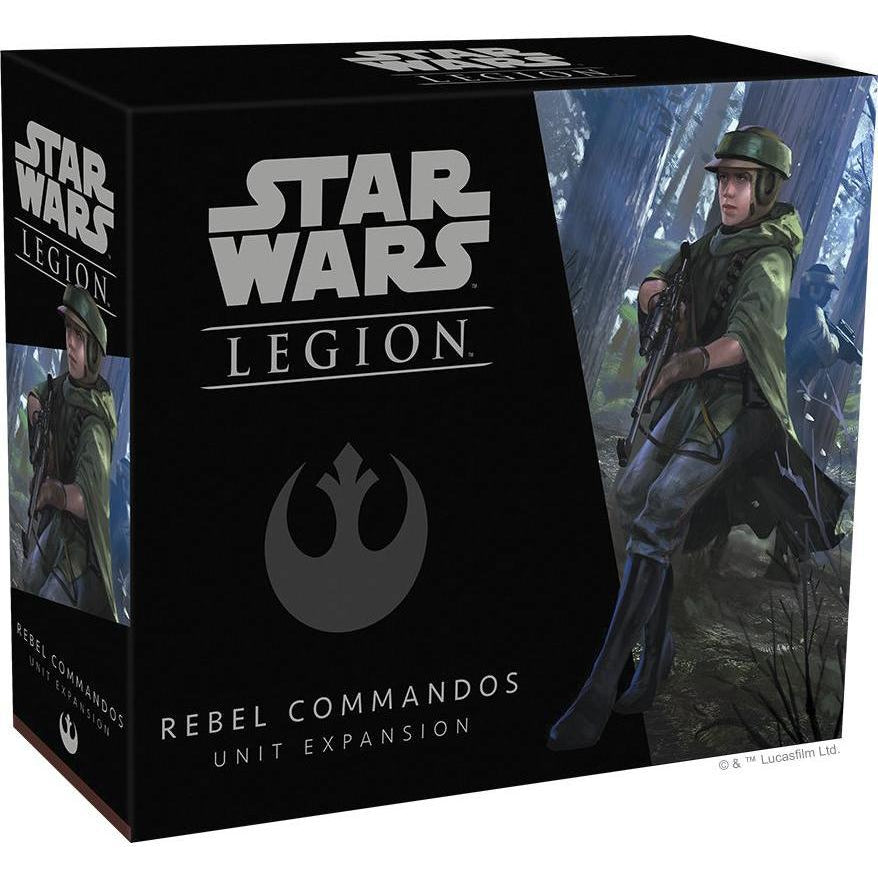 Star Wars: Legion - Rebel Commandos Unit Expansion - On the Table Games