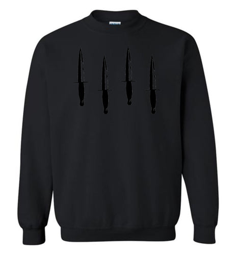 Homage Blackout Daggers Up Crew