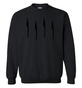 Homage Blackout Daggers Down Crew