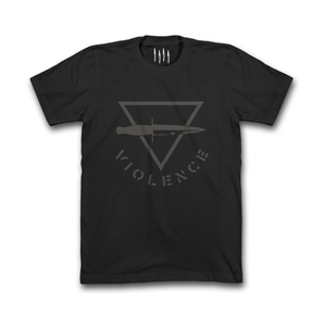 Black Triangle Violence Blackout Shirt