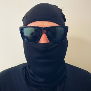 Black Triangle Hot Weather Balaclava