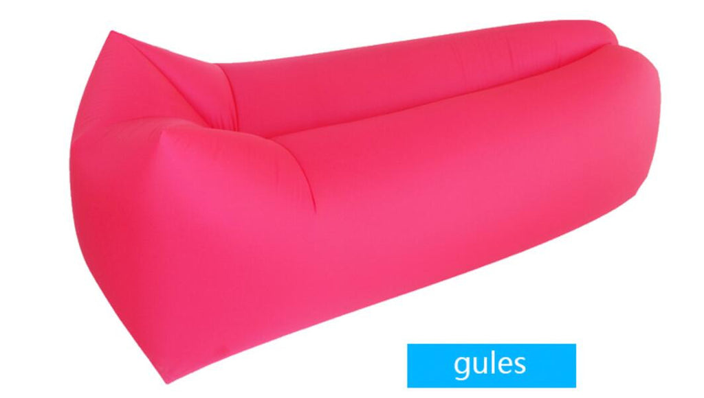 Attractive ... Outdoor Inflatable Lounger Couch Hangout Bag Airbag Chair ...