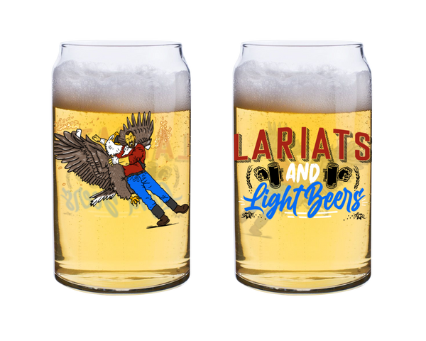 Lariat & Light Beers Glass