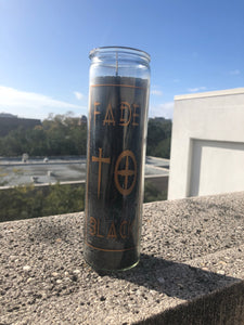 Fade To Black Prayer Candle
