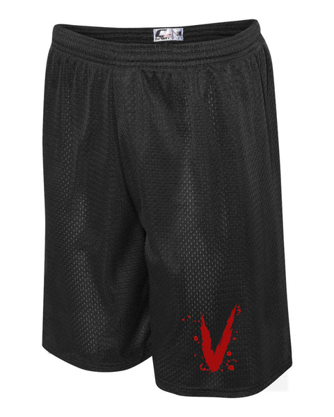 V Slash Athletic Shorts