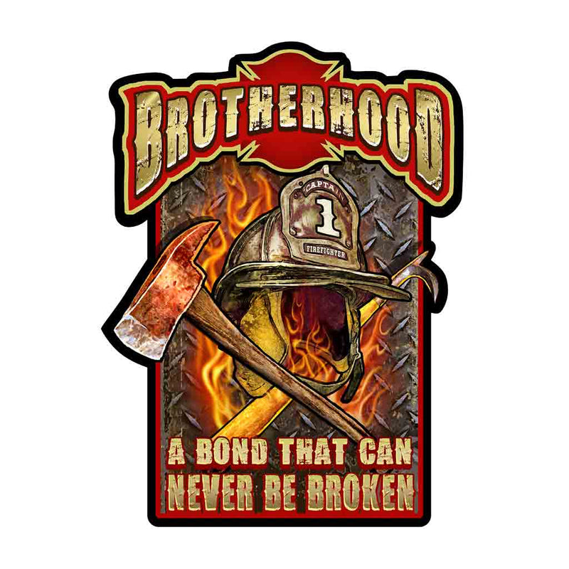 Firefighter Brotherhood Decal