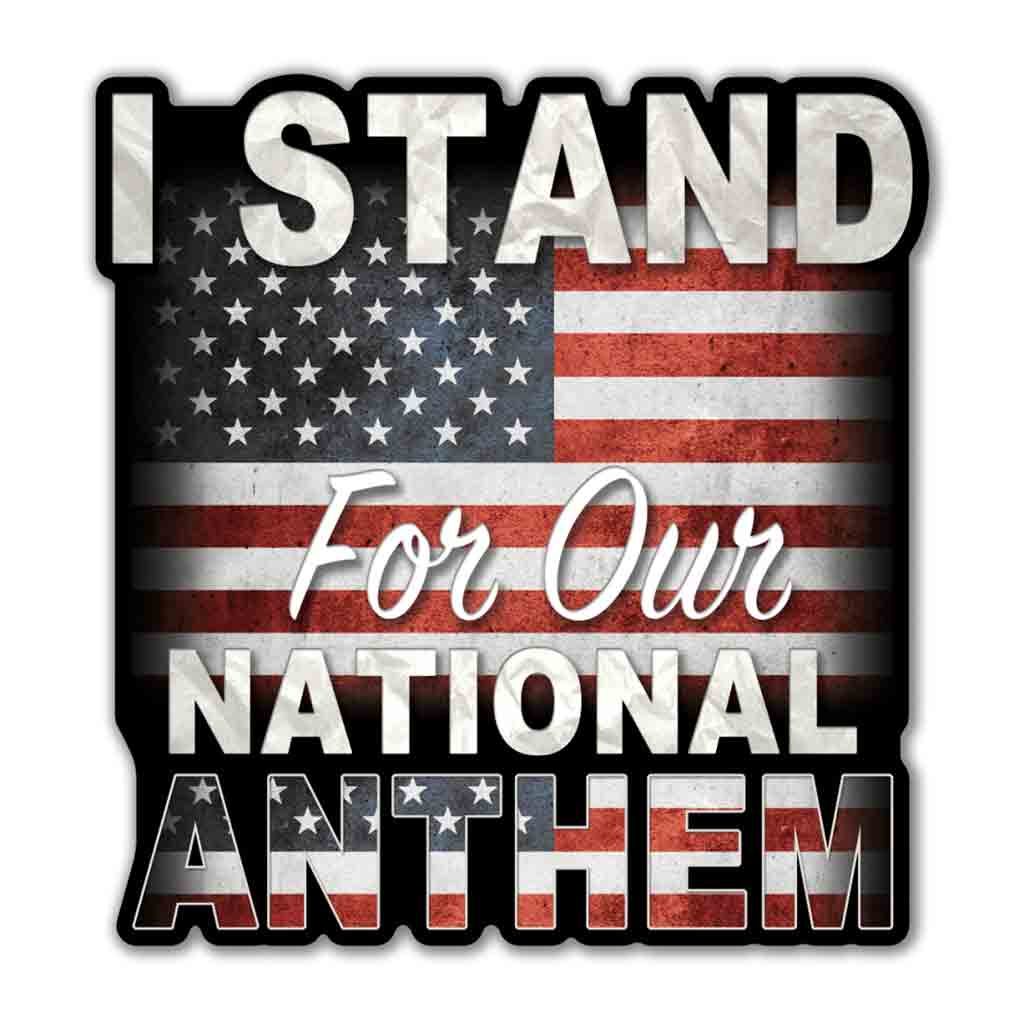 I Stand Decal
