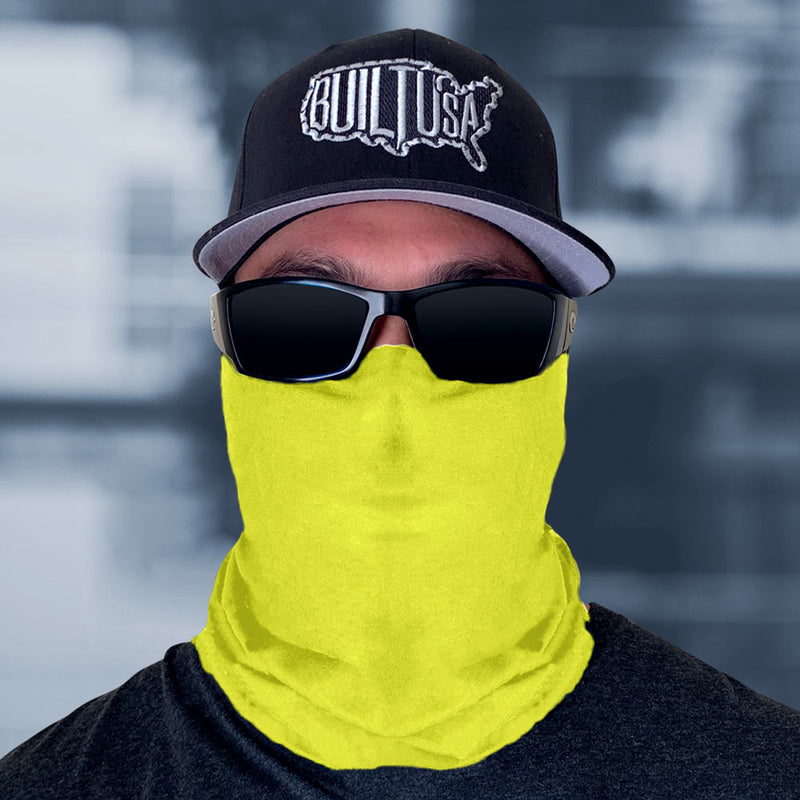 Safety Yellow Face Mask *LIMITED EDITION *