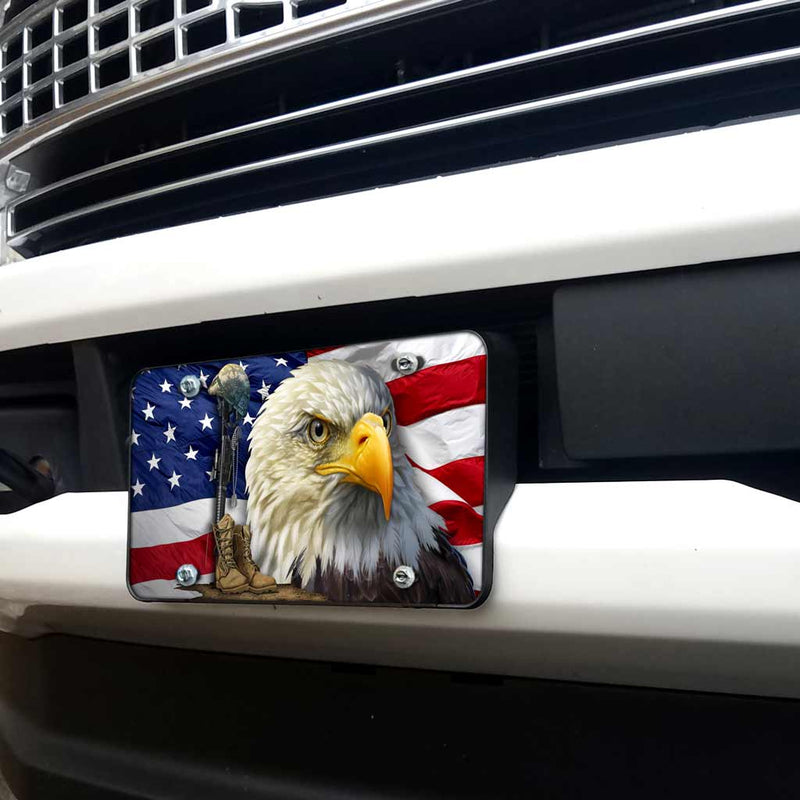 Salute our Flag License Plate