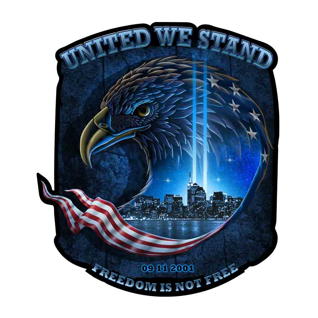 "United We Stand 6"" Decal"