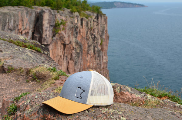 Minnesota Paddle trucker hat, from Clean Lakes MN.