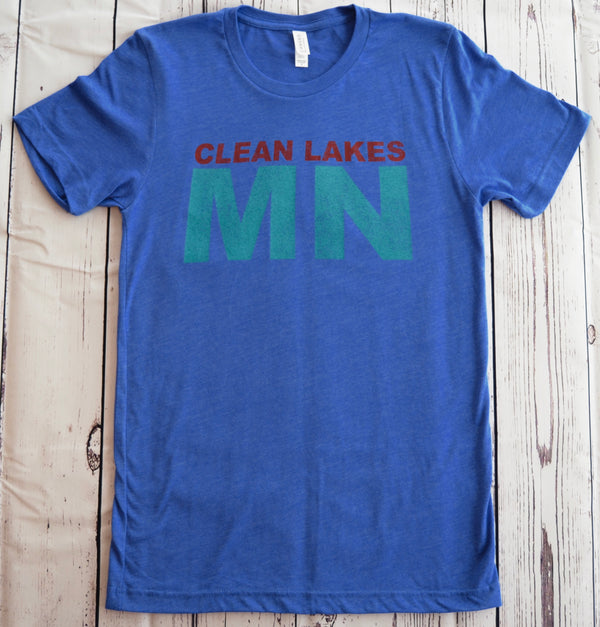 Clean Lakes MN - T-shirts (S-XL)