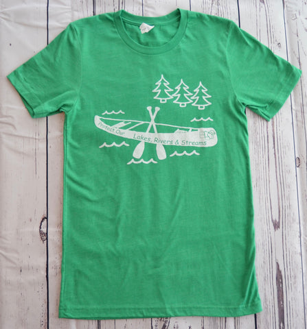 Midwest T-Shirt - Protect Our Lakes, Rivers & Streams