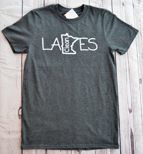 Clean Lakes MN Original T-Shirt (Small)