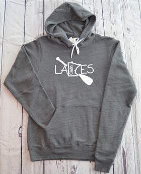 Paddle Hoodie - Clean Lakes MN (Small)