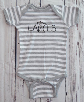 Infant Onesie (Striped) (18m)