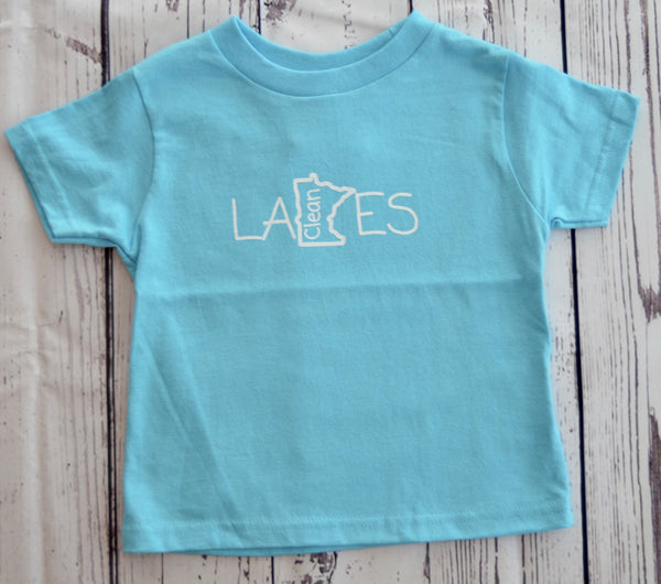 Toddler T-Shirt (2T) - Clean Lakes MN