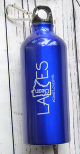 Clean Lakes MN Aluminum Water Bottle