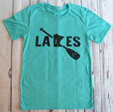 Original Clean Lakes MN Paddle T-Shirt