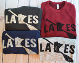 MN Lakes Paddle Crewneck Sweatshirt