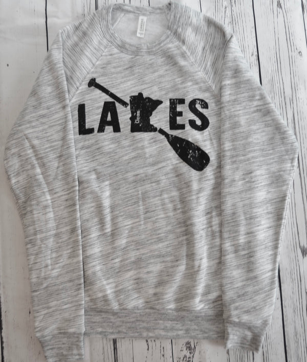 Paddle Crewneck Sweatshirt - Clean Lakes MN