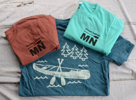 Lakes, Rivers & Streams T-shirts