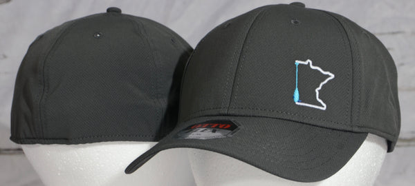 Minnesota paddle flex fit hats