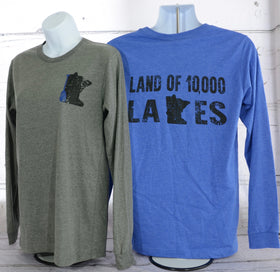 Land of 10,000 Lakes - Long Sleeve