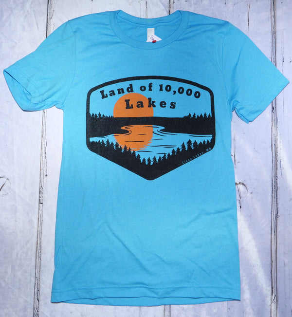 Land of 10,000 Lakes T-shirts