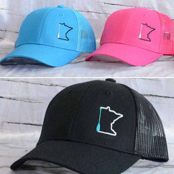 Youth Minnesota Paddle Trucker Hats