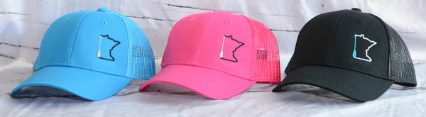 Kid's Minnesota Paddle Trucker Hats
