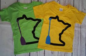 MN Paddle Toddler T-Shirts