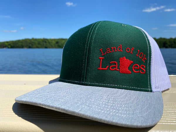 Land of 10000 Lakes - Minnesota Wild colors - Trucker hat