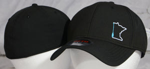 MN Paddle flex fit hats.
