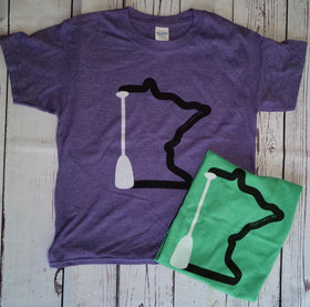 MN Paddle Youth T-Shirts