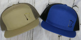 MN Paddle - 7 Panel Trucker Hat