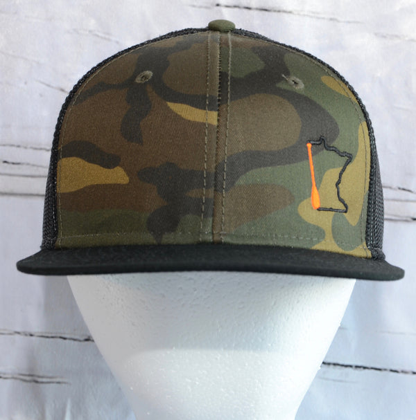 Minnesota Paddle Camo Trucker Hat