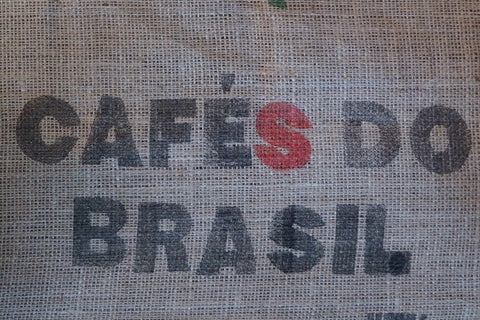 Brazil Cerrado green unroasted coffee bag. Free shipping!