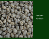 Tanzania Peaberry Coffee Unroasted