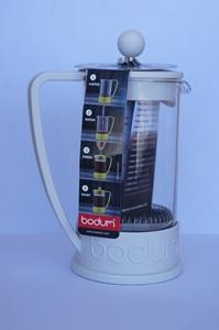 Bodum Brazil French Press 3 Cup, 12 oz, 0.35 l, Off White