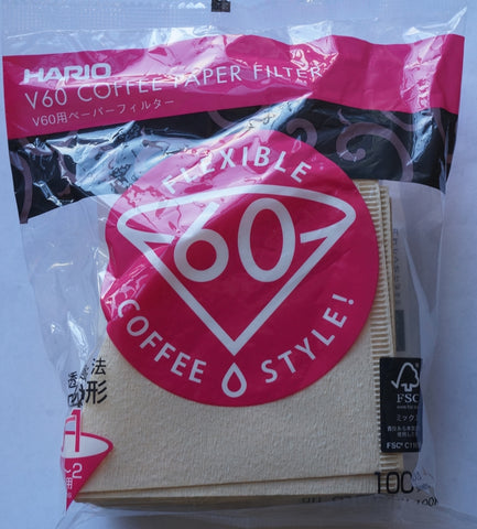 Replacement filters for Hario coffee makers