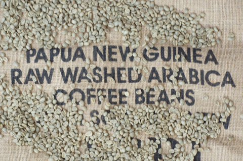 Papua New Guinea Kimel Unroasted Coffee Beans