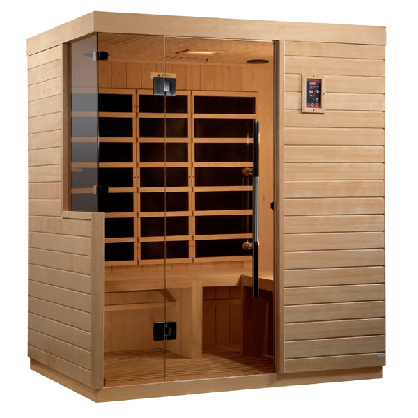 DYN-5830-01 Bilbao 3 Person Ultra Low EMF FAR Infrared Sauna