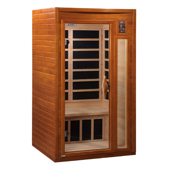 ***New 2020 Model*** Barcelona Elite - 1-2 Person Ultra Low EMF FAR Infrared Sauna