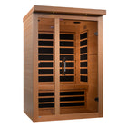 ***New 2020 Model*** Llumeneres 2 Person Ultra Low EMF FAR Infrared Sauna
